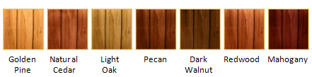 Deck Staining Palette