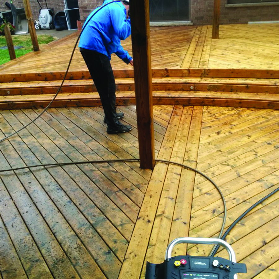 Deck And Fence Power Washing